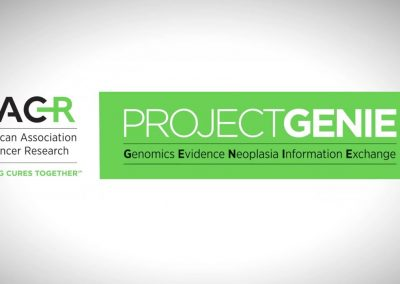 AACR Project GENIE: An International Cancer Registry   Session Chair: Alexander S. Baras, Johns Hopkins Hospital